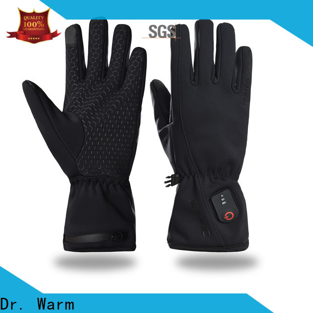 suitable heated winter gloves screen improves blood circulation for winter