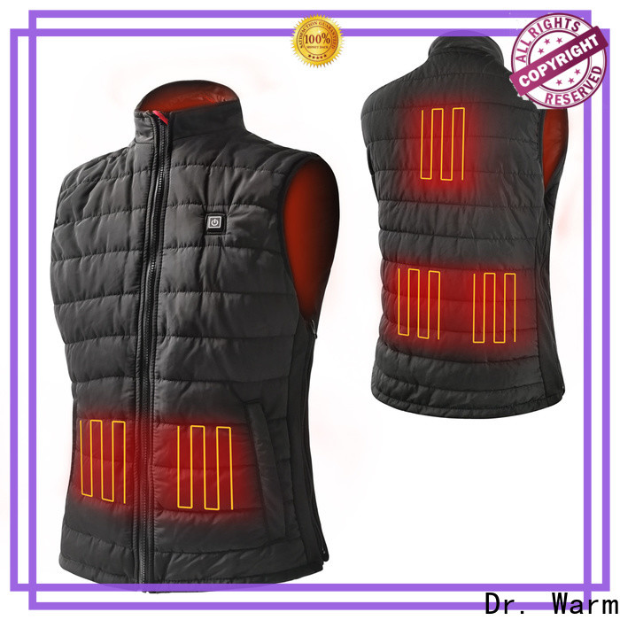 online battery warm jacket waterproof with arch support design for ice house