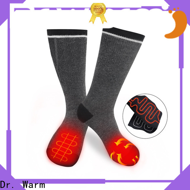 Dr. Warm cotton battery socks with smart design for home
