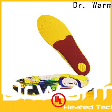 Dr. Warm fishing heated insoles suit your foot shape for outdoor