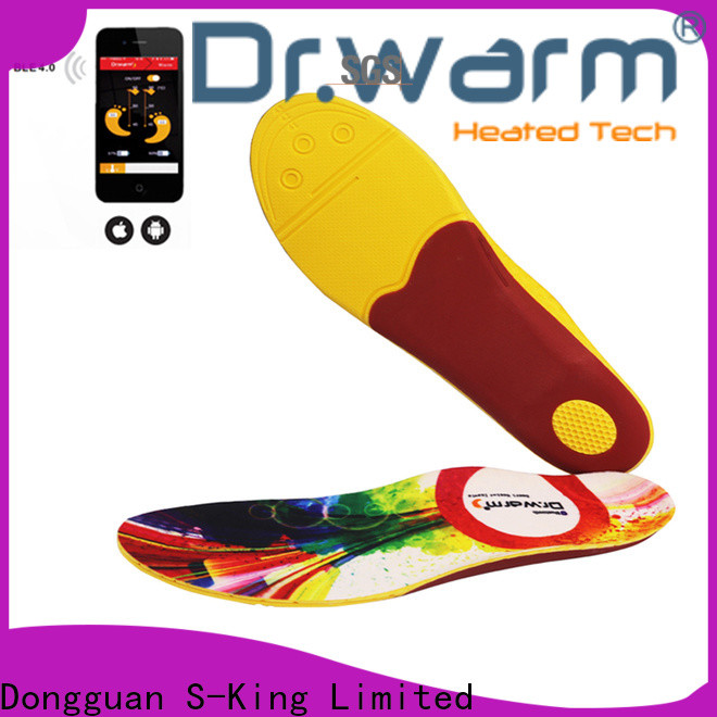 Dr. Warm fishing heated insoles for work boots with cotton for outdoor