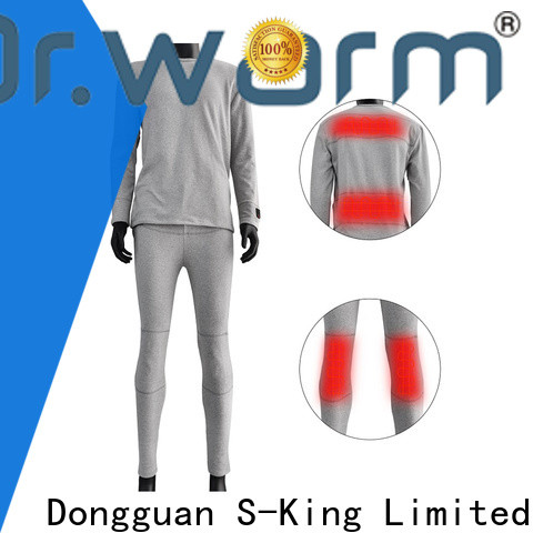 Dr. Warm comfortable heat gear base layer with prined pattern for home