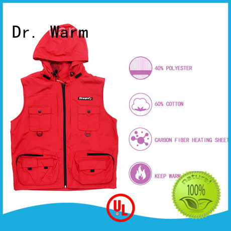 Quality Dr. Warm Brand heated work vest heating control