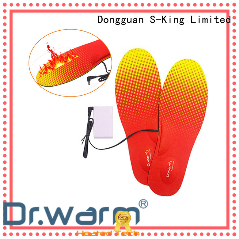 Dr. Warm warm the best heated insoles with cotton for outdoor