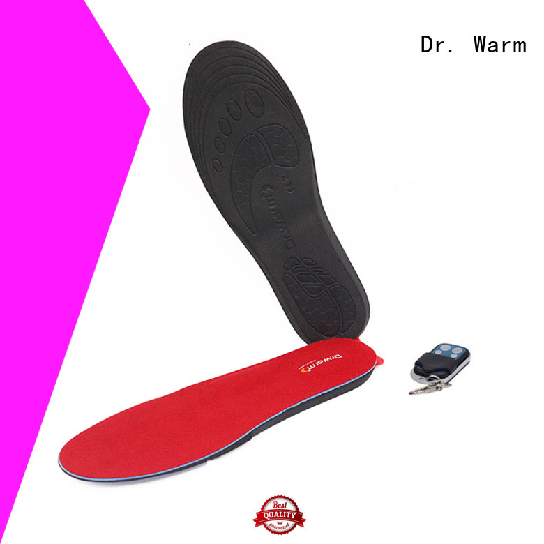 Dr. Warm electric heat insoles for boots with cotton for ice house