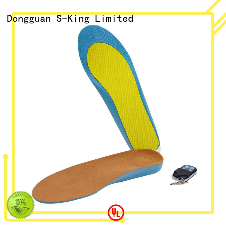Dr. Warm warm heated bluetooth insoles with cotton for indoor use