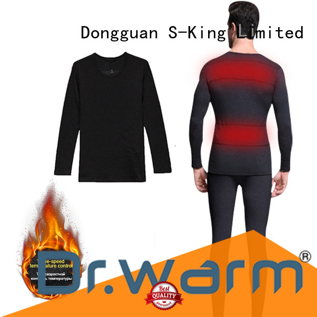 Heated underwear washable outdoor sports winter use heating clothes 3 level warm and comfortable