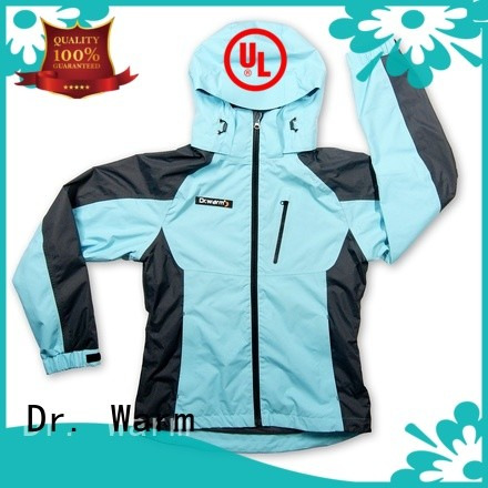 Dr. Warm universal heated waterproof jacket with shock absorption for winter