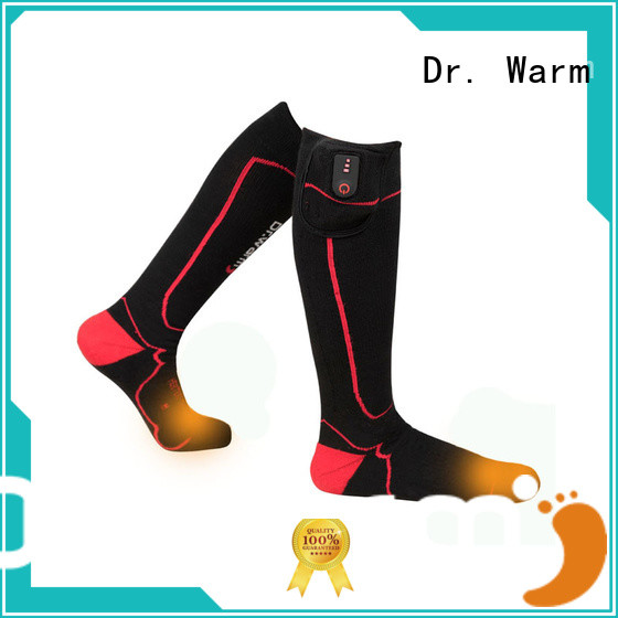 Dr. Warm heating battery powered socks with smart design for winter