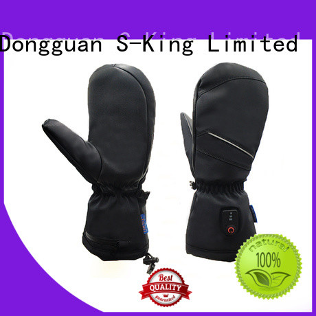 Fingerless heating gloves outdoor sports riding skiing warmer, Mitt shell pattern