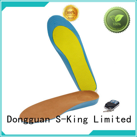 Dr. Warm warm heated insoles bluetooth fit to most shoes for winter