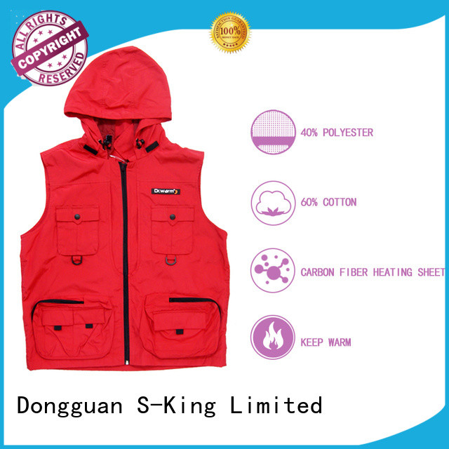 Dr. Warm heated battery operated heated vest keep you warm all day for outdoor
