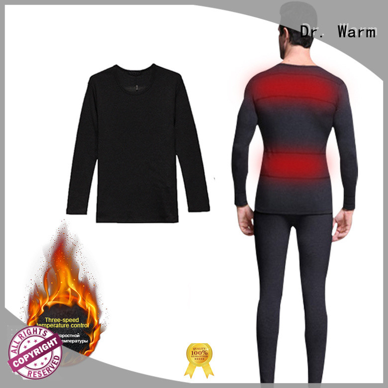 comfortable electric heated underwear warm improves blood circulation for ice house