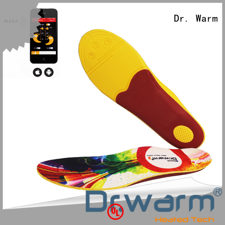 Dr. Warm protect heated sole lasts for 3-7hours for ice house