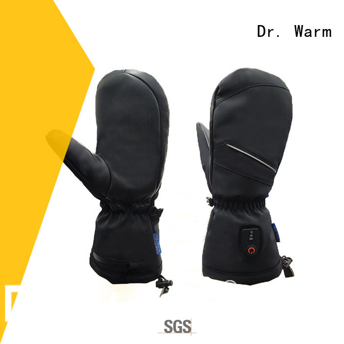 Dr. Warm sensitive heated snowmobile gloves men for indoor use