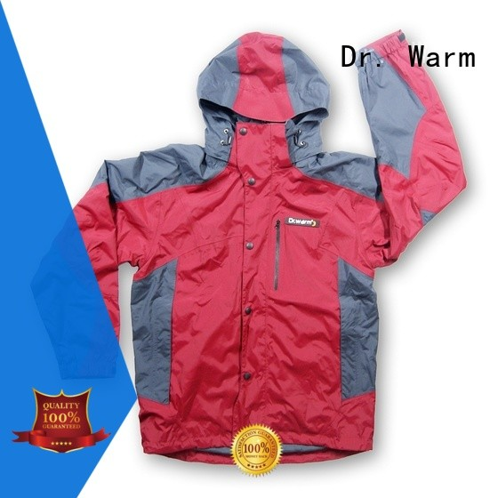 Dr. Warm grid electric jacket warmer with arch support design for outdoor