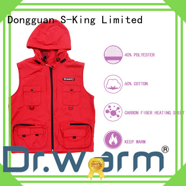 heated heated winter vest female improves blood circulation for ice house