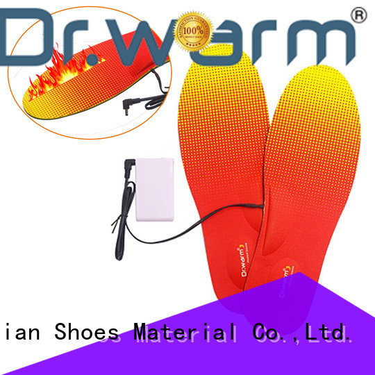 Dr. Warm warmer heated insoles for hunting skiing ice house