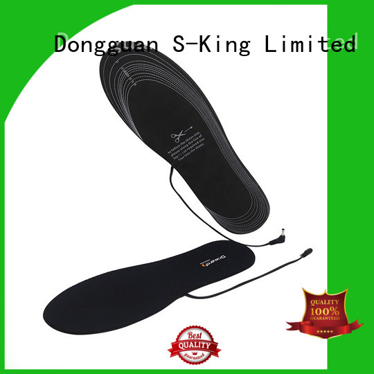 wire electric shoe insoles bluetooth suit your foot shape for outdoor