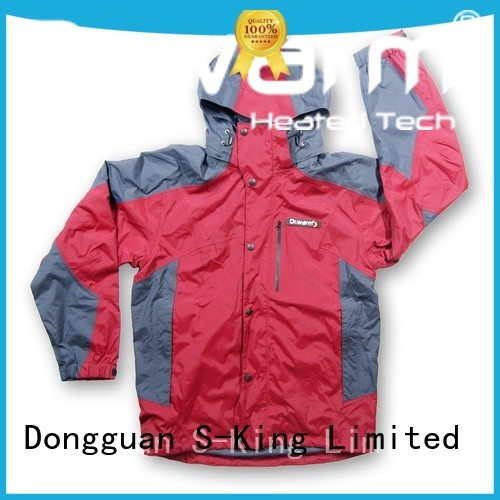 Dr. Warm universal heated waterproof jacket with shock absorption for outdoor
