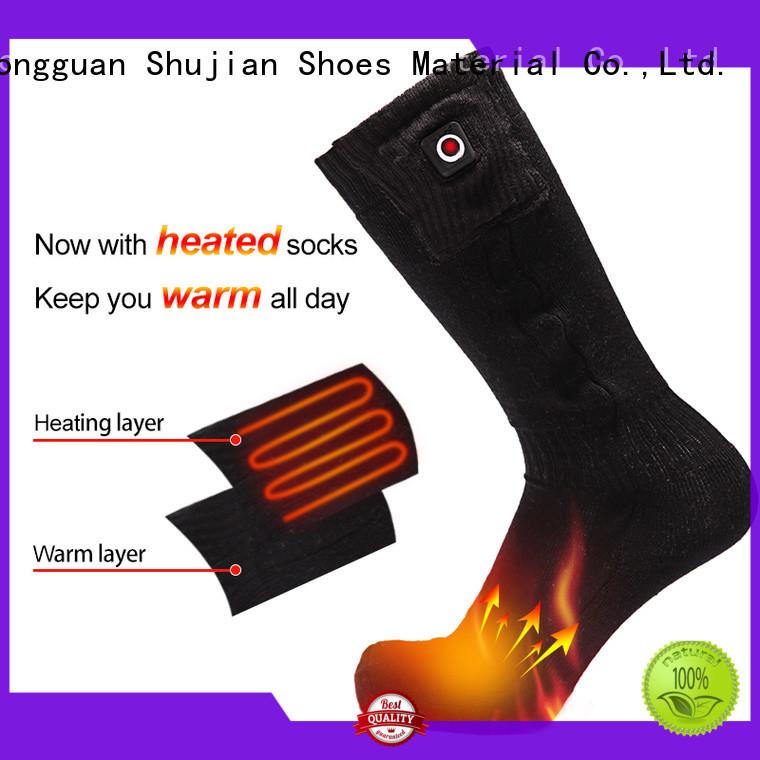 Custom outdoor heated socks warm Dr. Warm