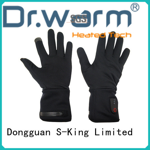 women rechargeable battery heated gloves improves blood circulation for indoor use Dr. Warm