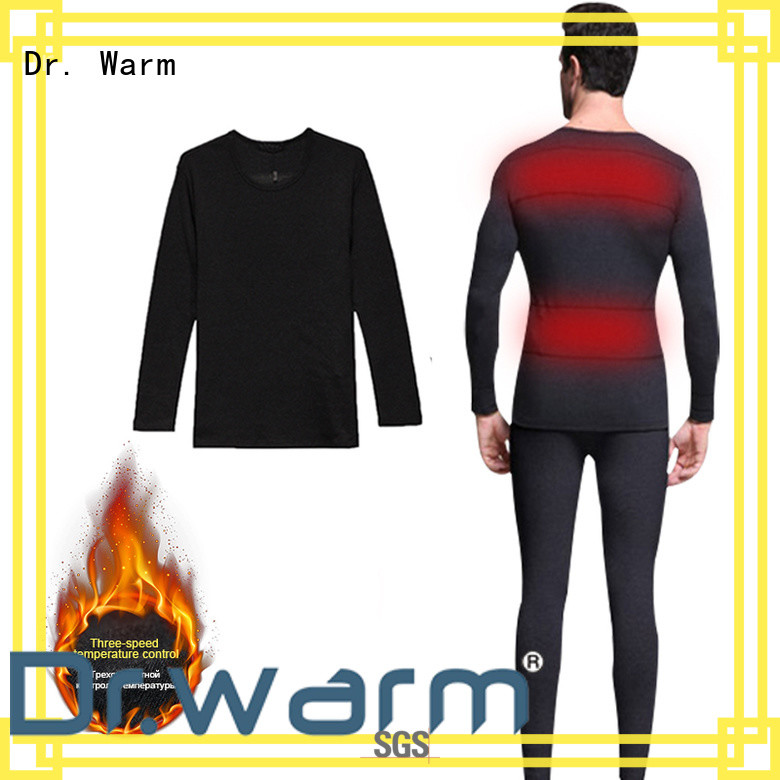 Dr. Warm comfortable heated under clothes level for indoor use