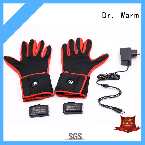 women's heated gloves men for ice house Dr. Warm