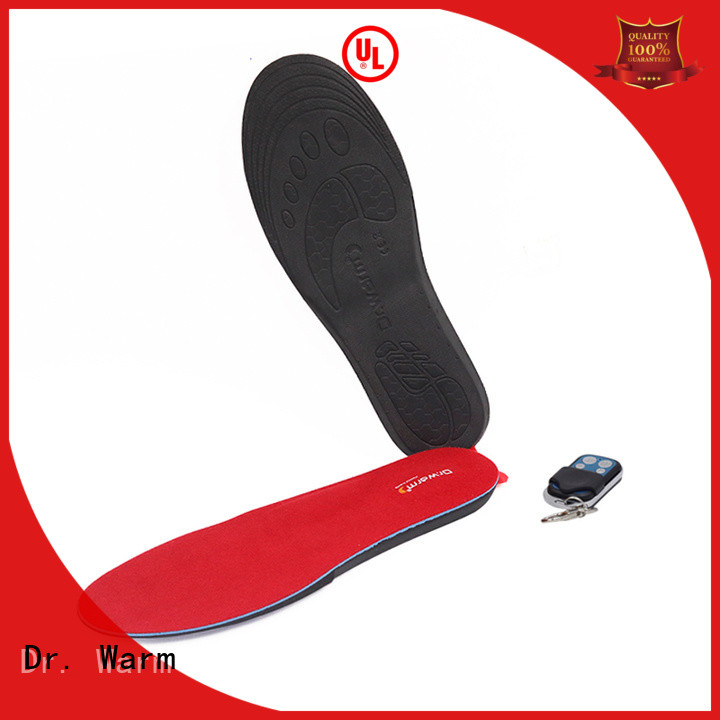 Dr. Warm warm the best heated insoles fit to most shoes for indoor use