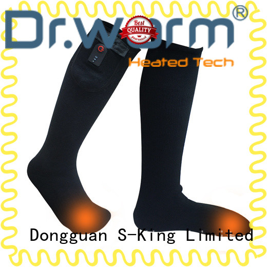 outdoor heated ski socks heating for winter Dr. Warm