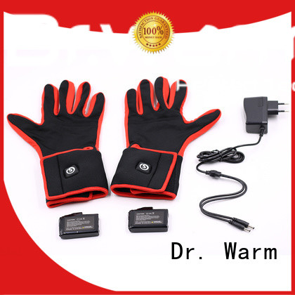 Dr. Warm online rechargeable battery heated gloves improves blood circulation for home