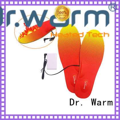 protect battery powered heated insoles fit to most shoes for home Dr. Warm