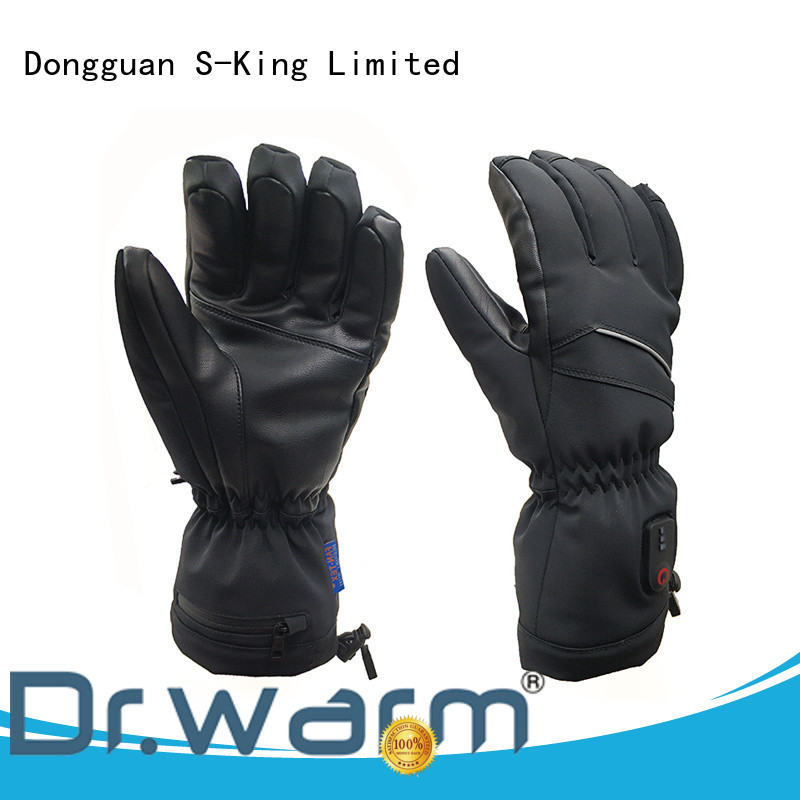 heated gloves and socks feel for winter Dr. Warm
