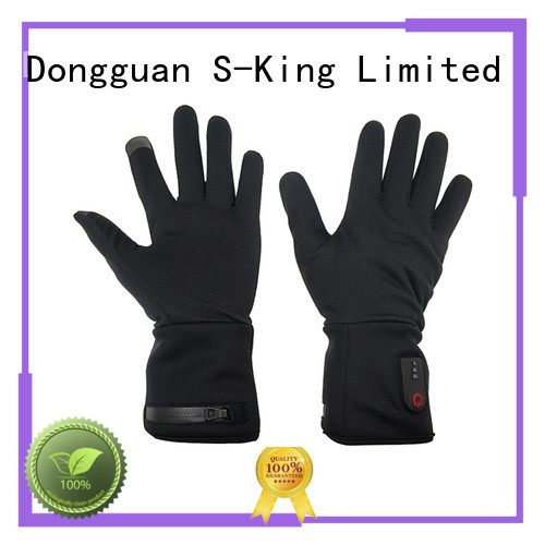 Dr. Warm skiing battery heated gloves for home