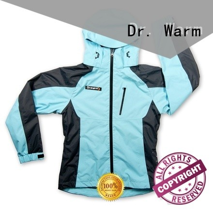grid battery powered jacket grid with shock absorption for outdoor