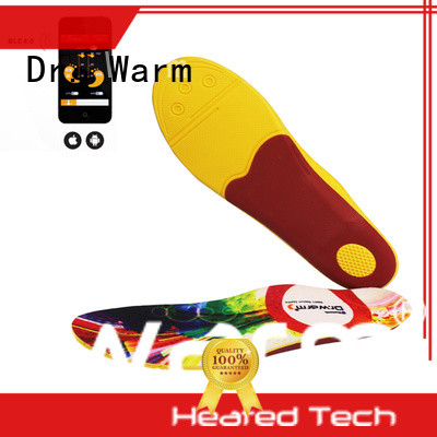 Dr. Warm warmer electric heated shoe insoles with cotton for indoor use