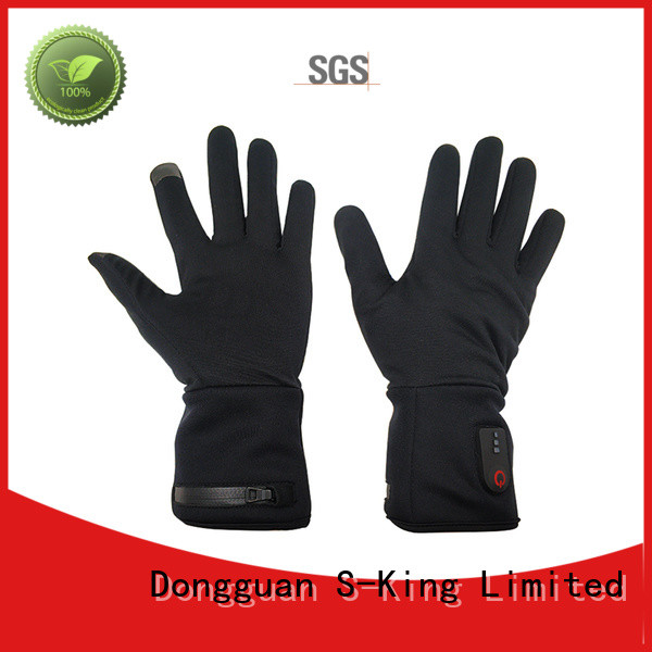 online electronic gloves winter with prined pattern for winter