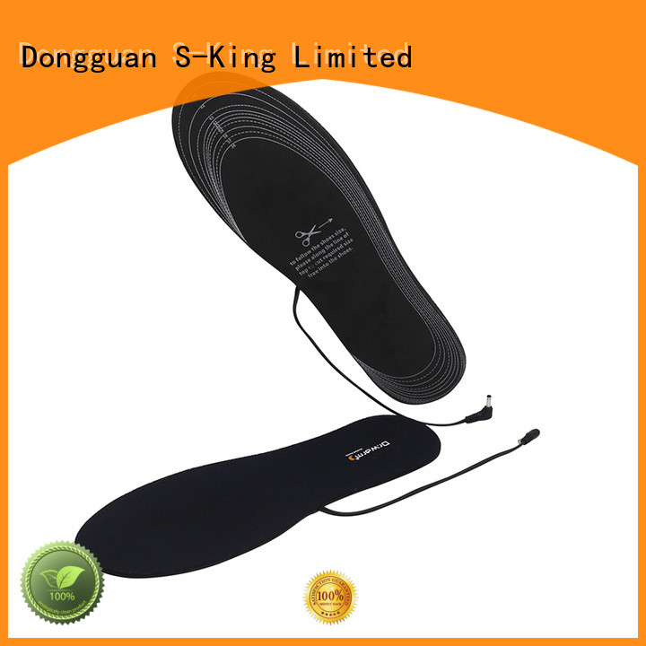 Dr. Warm electric electric shoe insoles fit to most shoes for indoor use