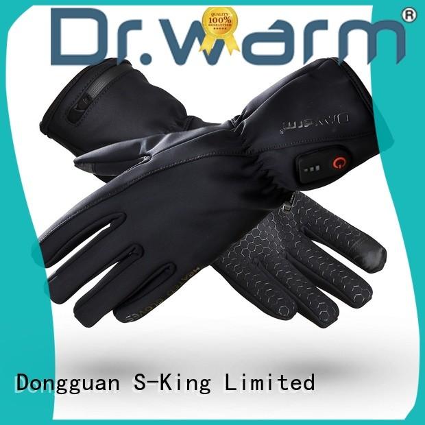 Dr. Warm electric ski gloves