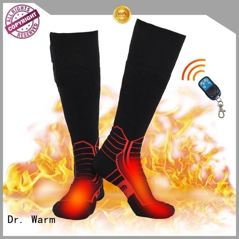 heated cycling socks