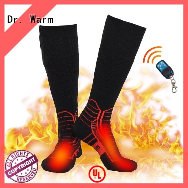 Dr. Warm heated cycling socks