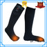 heated rechargeable heated socks winter with prined pattern for winter