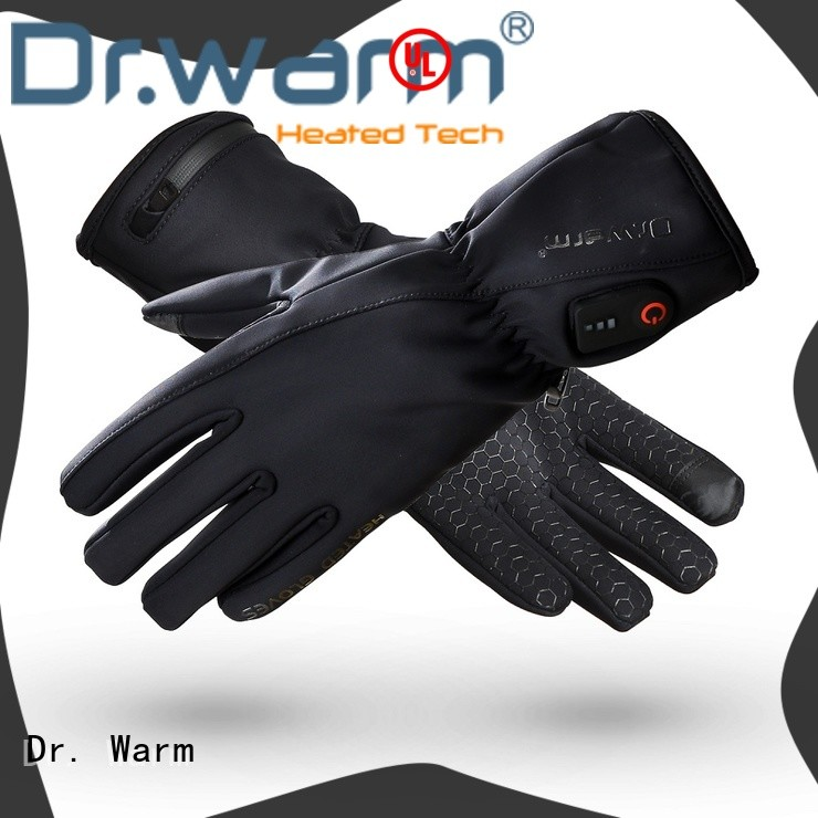 Dr. Warm heated fishing gloves