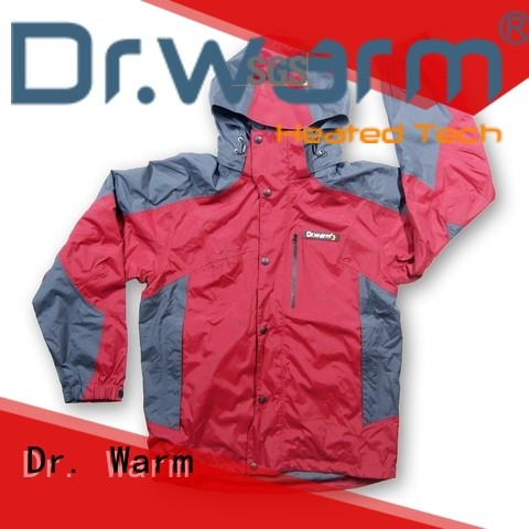 Dr. Warm online battery operated heated jacket with arch support design for winter