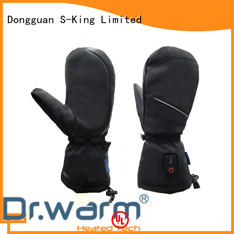 Dr. Warm suitable women's heated gloves outdoor for home