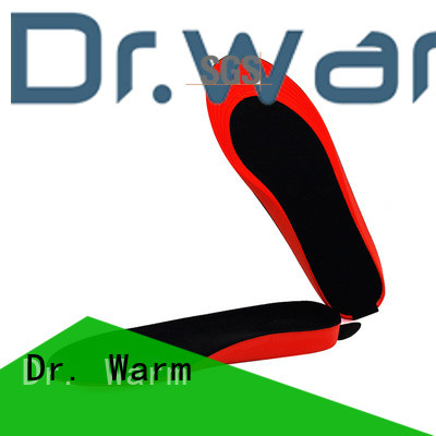 Dr. Warm wire heated insoles bluetooth fit to most shoes for indoor use