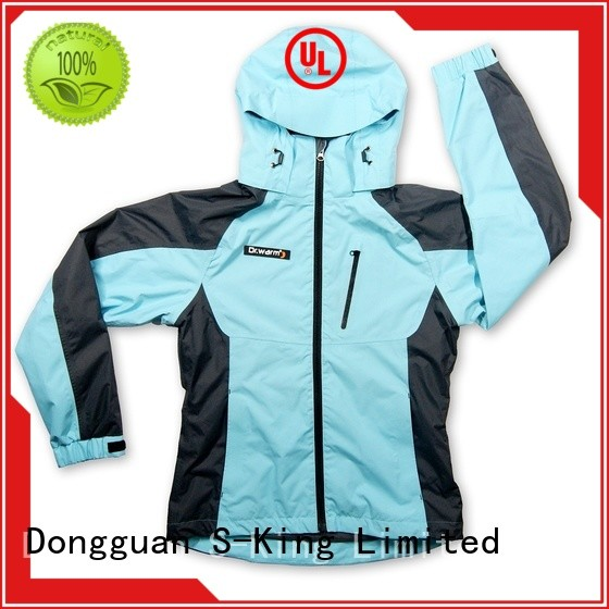Dr. Warm heated heated winter jacket with arch support design for outdoor