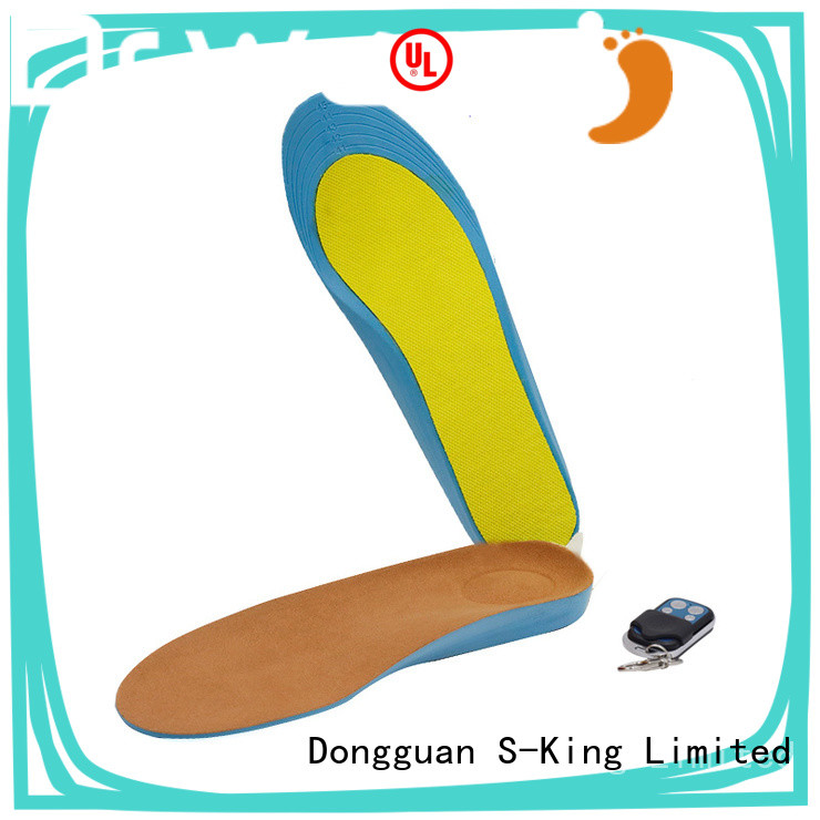 Dr. Warm fishing electric insoles foot warmers suit your foot shape for indoor use