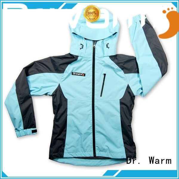 Dr. Warm grid best heated jacket with heel cushion design for winter