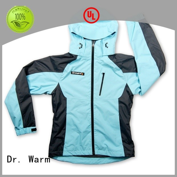 outerwear jackets battery powered jacket sports mens Dr. Warm company